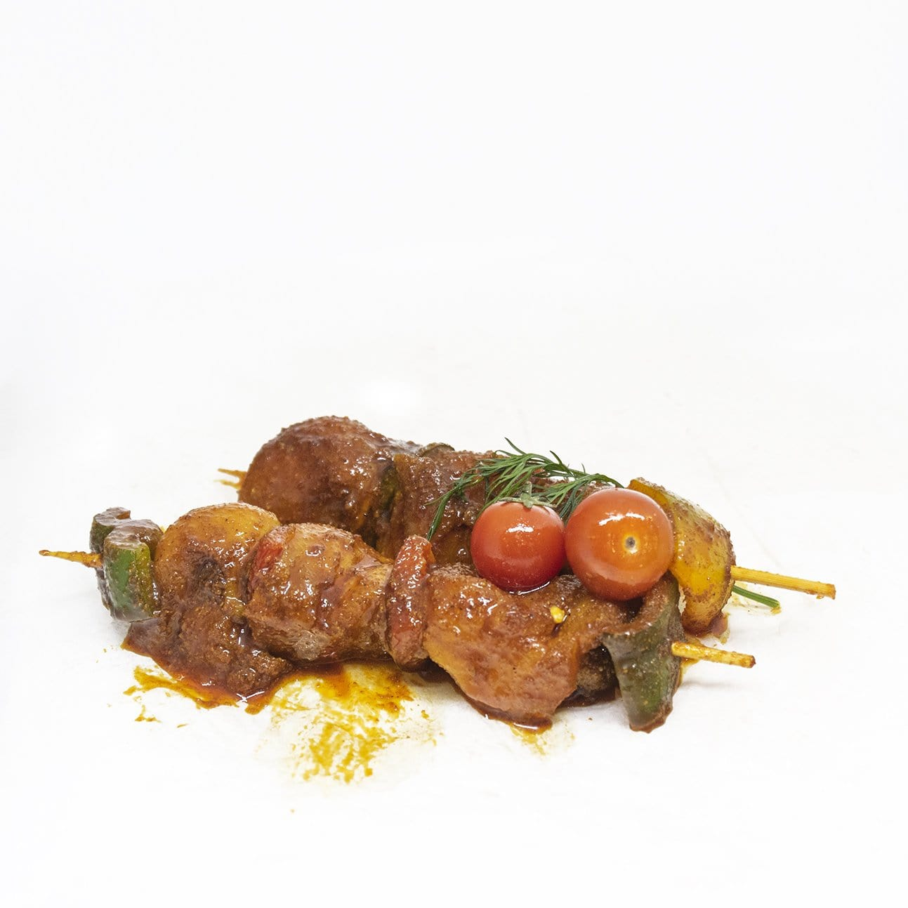 Exotic Chicken Brochettes