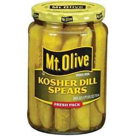 Mt. Olive Kosher Dill Spears 710g