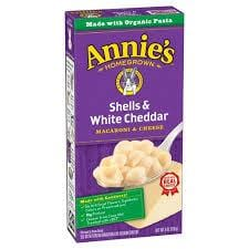 Annies Shell & White Cheddar 170g