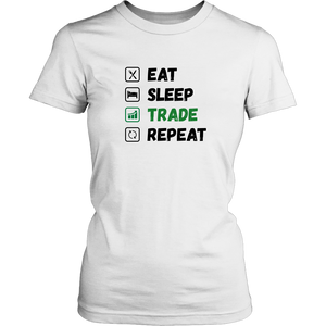 Eat Sleep Trade Repeat , Amazing Product Design for Forex Traders