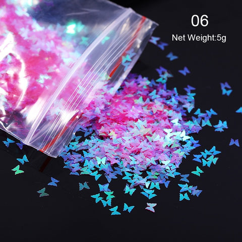 Image of Holographic Nail Sequins Paillette