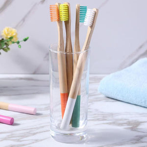 Natural Bamboo Soft Bristle Toothbrush