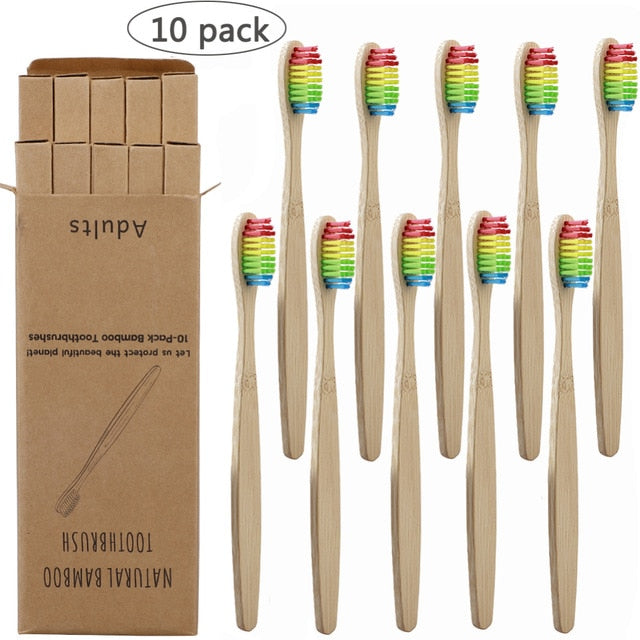 Soft Fibre Bamboo Toothbrush
