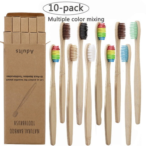 Image of Soft Fibre Bamboo Toothbrush