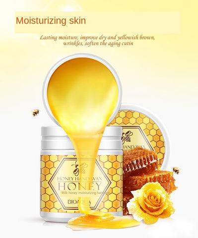 Moisturizing and Peeling Hand Wax