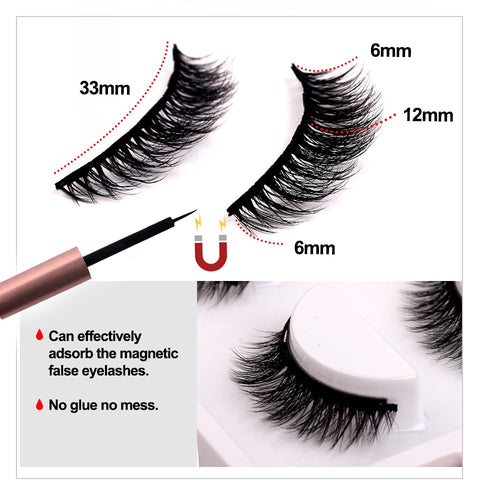 Image of Magnetic Natural Look Eyelashes