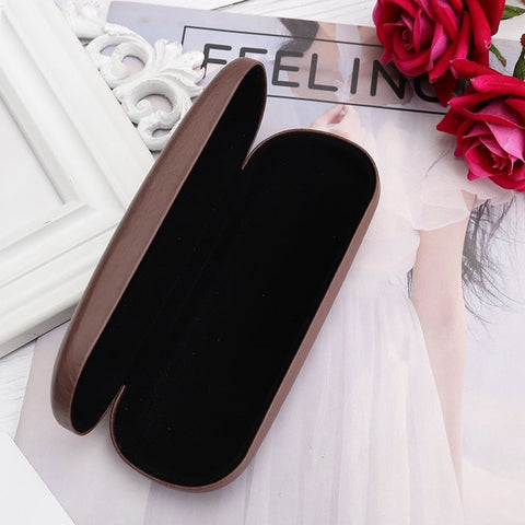 High-Quality Wooden Glasses Case