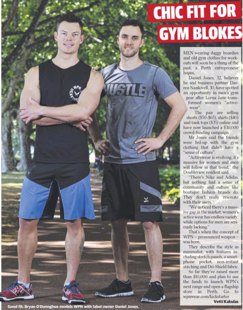The Sunday Times (Perth) - Chic Fit For Blokes