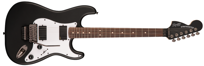 GUITARRA ELEC FENDER SQ CON ACT2H FLTBK 0370327510 Floyd Rose