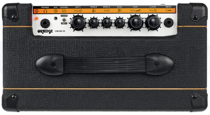 AMPLIFICADOR ORANGE DE GUIT ELEC D-CRUSH-20 BLACK