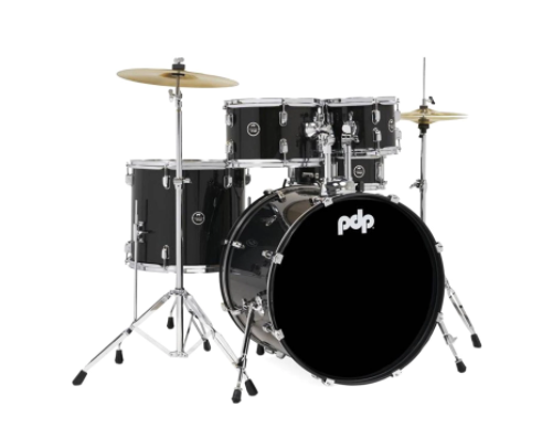 BATERIA DW CENTER STAGE PDCE2215KTBO NEGRA 5PCS