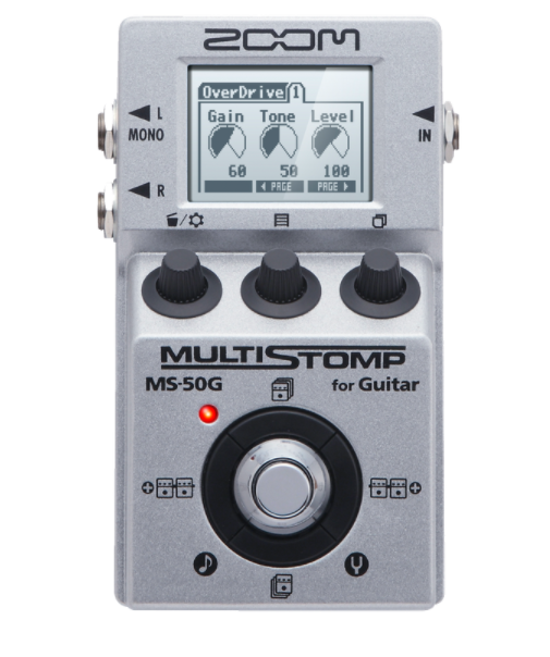 PEDAL ZOOM MS-50G/GL MULTI STOMP GUIT