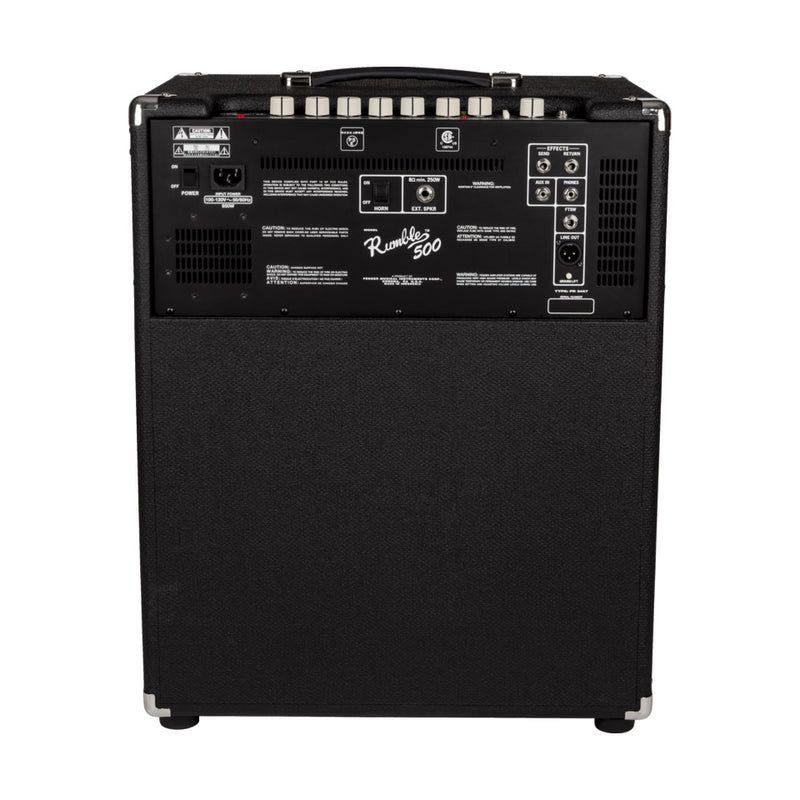 AMPLIFICADOR FENDER BAJO RUMBLE 500 V3 120V