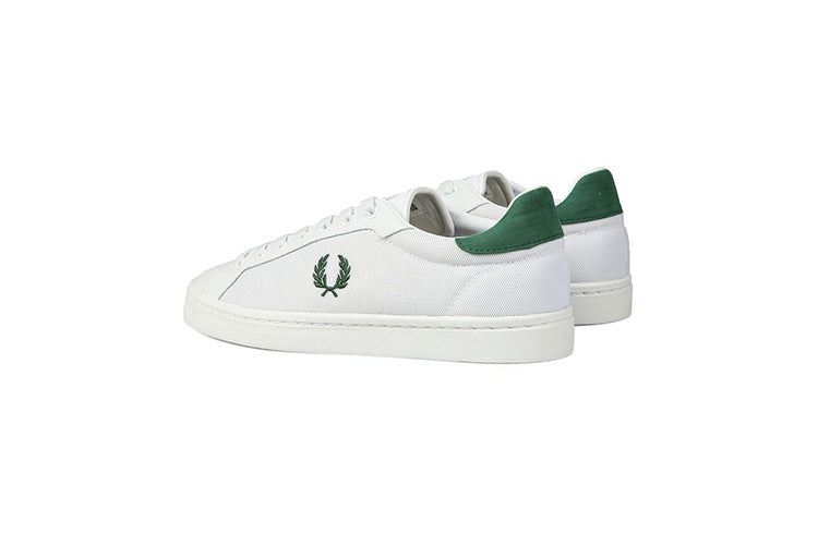 "Fred Perry Lawn Leather "" Mesh White"""
