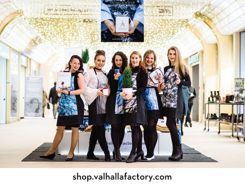 Valhalla POP-UP Christmas SHOP open until 24.12 @Solaris