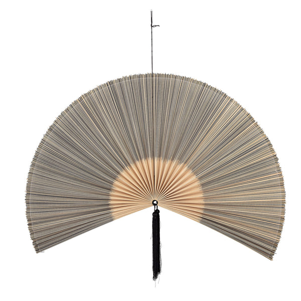 Wall Decor, Bamboo Fan