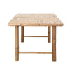 Sole Dining Table, Nature, Bamboo