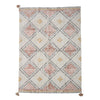 Rug Inka, Pastel-color, Cotton