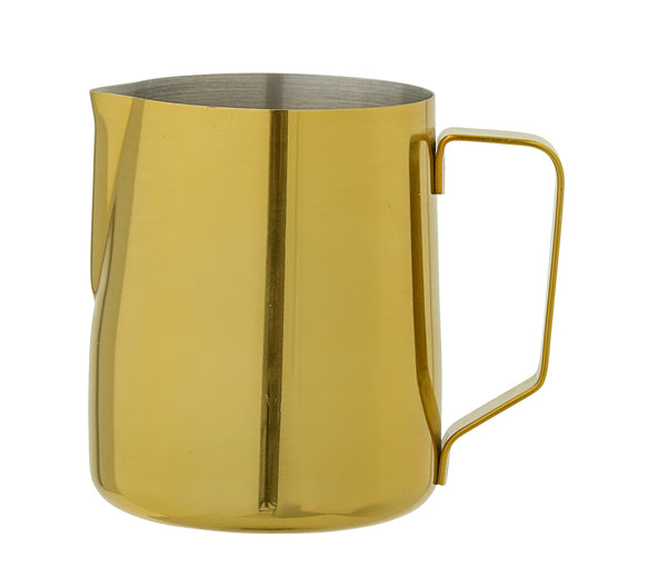 Milk Jug, Gold, Stainless Steel