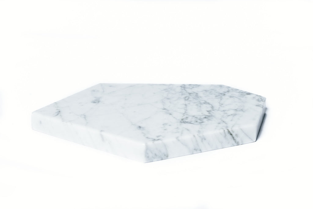 Marble Plate /Candle Holder