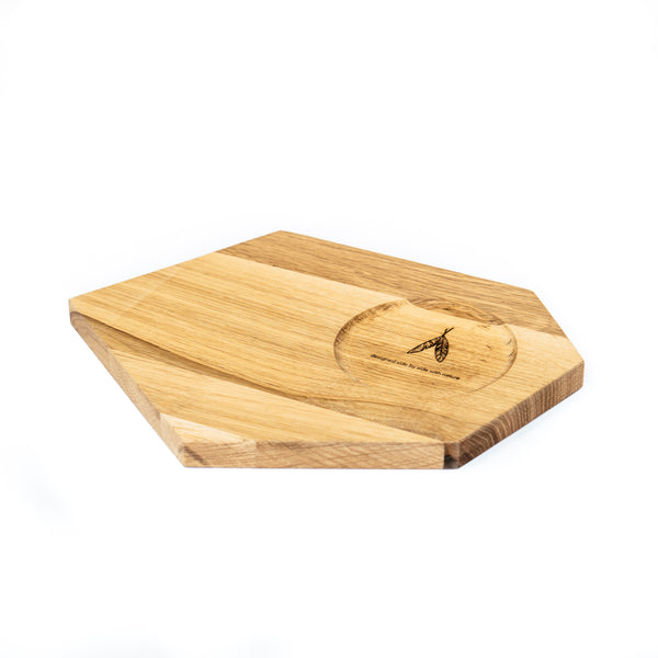 Wooden Plate / Candle holder