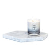 111. Natural unscented candle