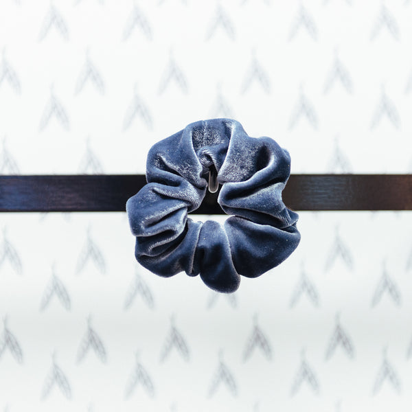 Soft Velvet Hairband, Gray