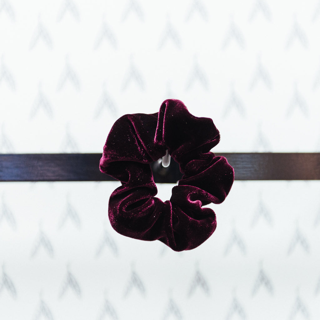 Soft Velvet Hairband, Purple