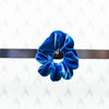 Soft Velvet Hairband, Blue