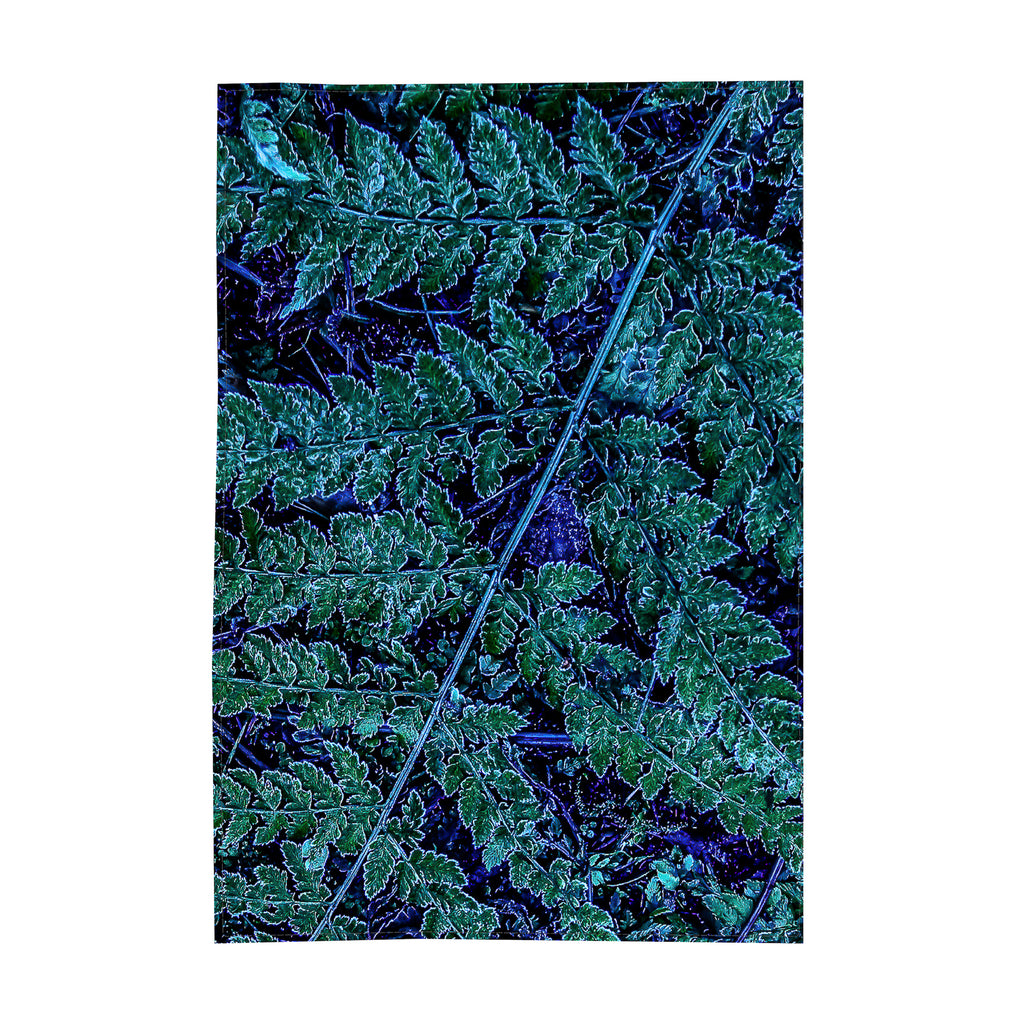 192. Table Cloth, Ice Fern