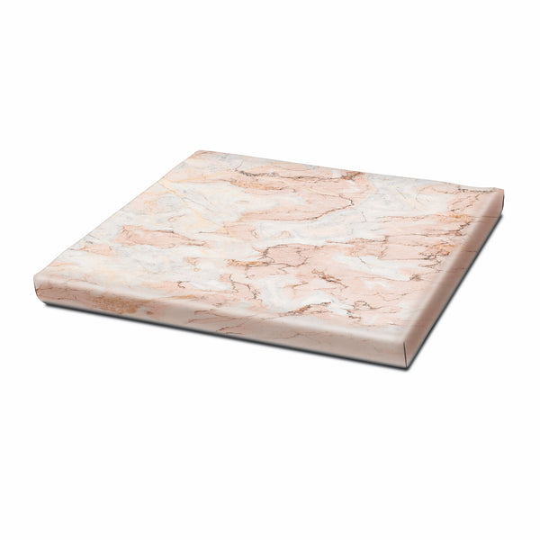 Seat Cushion, Rose Marble