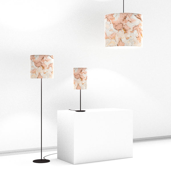 Lampshade, Rose Marble