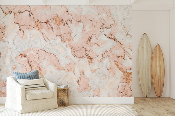 Wallpaper, Rose Marble