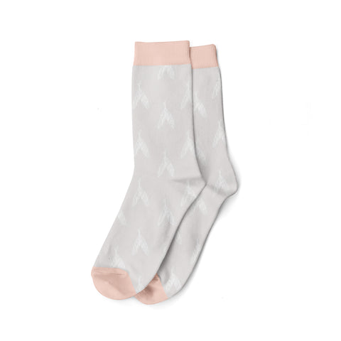 Socks, Valhalla Feather Pink