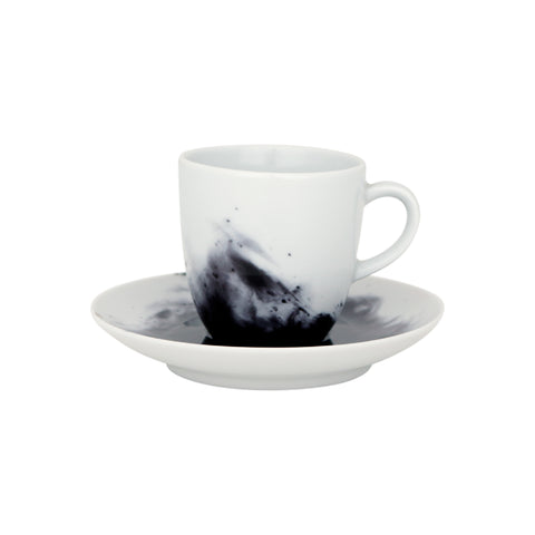 Espresso cup with saucer, FLUME