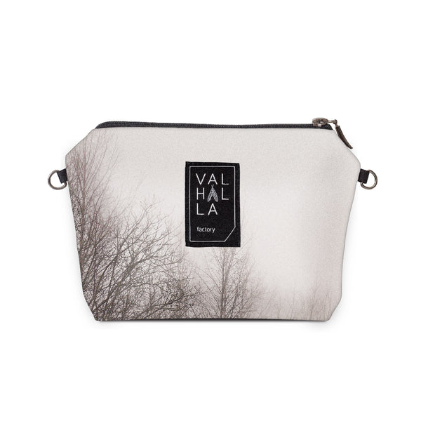 140. Pouch Carry all / Cosmetic bag, Forest