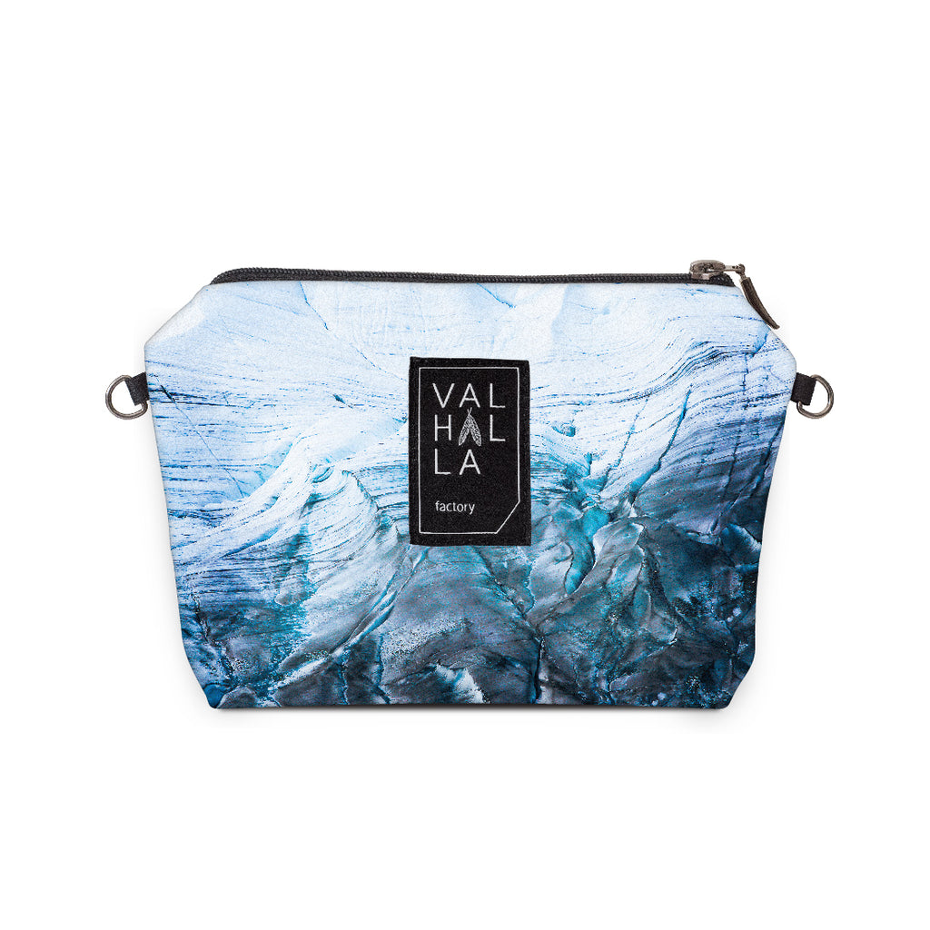 180. Pouch Carry all / Cosmetic bag, Glacier