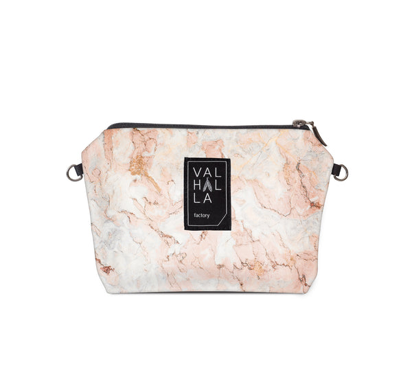 Cosmetic bag, Rose Marble