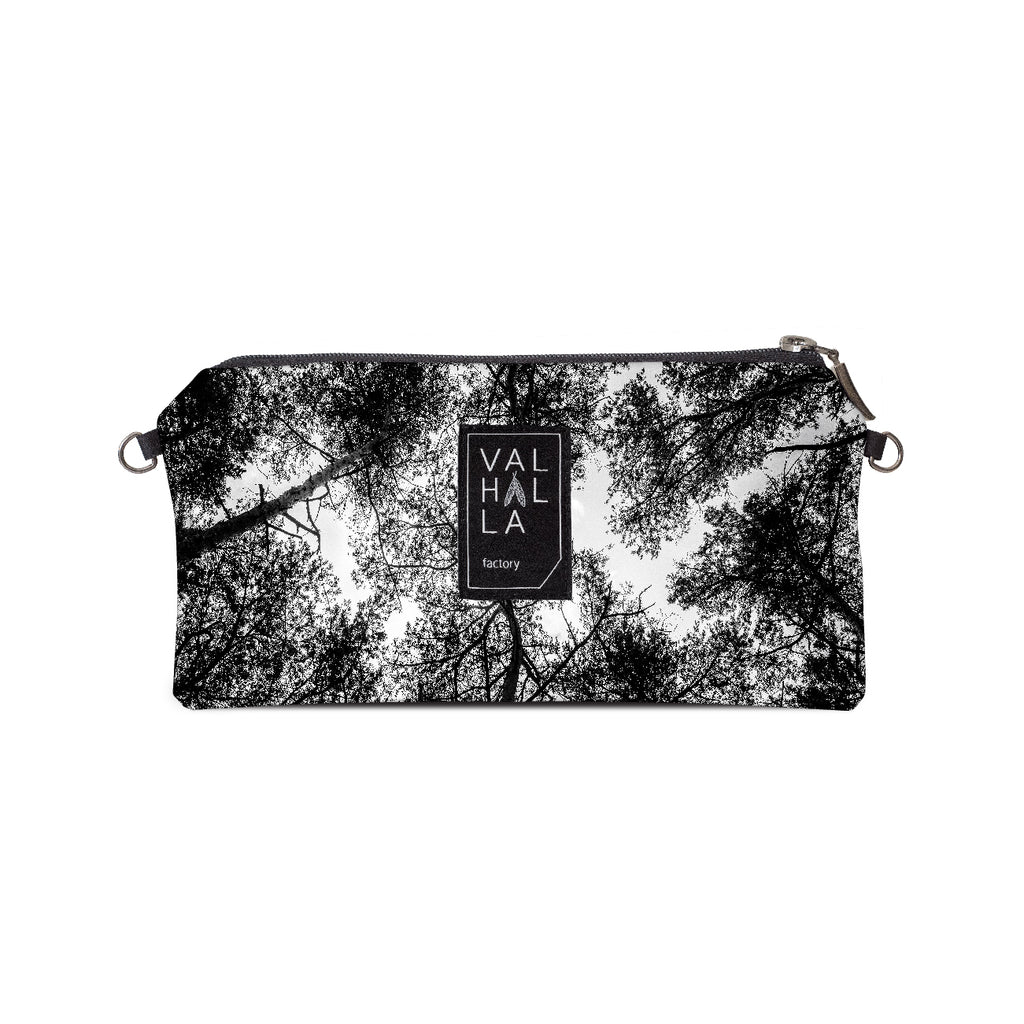 130. Pouch Carry all / Cosmetic bag, Treetops