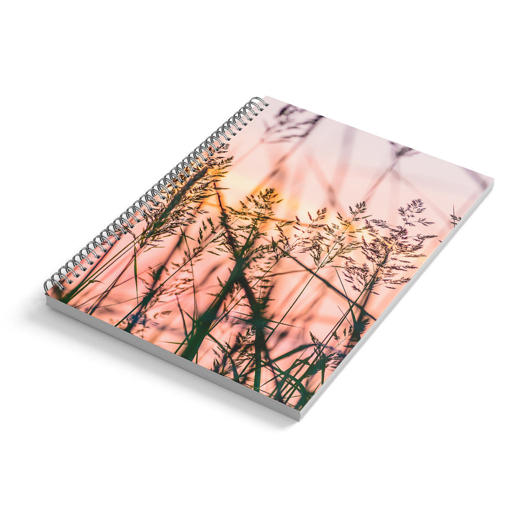 Spiral Notebook A4, Sun Ballerinas