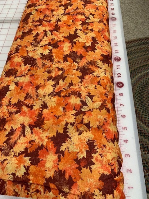 Halloween Fall Cotton Fabric by the Yard, Halloween quilting