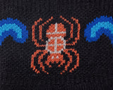 Hiking - Water Spider Symbol - Moderate Cushion - Quarter Socks
