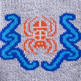 Hiking - Water Spider Symbol - Moderate Cushion - Crew Socks