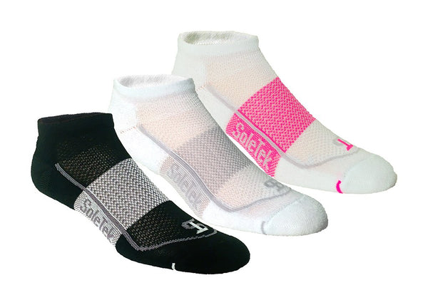 Sole Tek Running Socks 3-Pack - Small