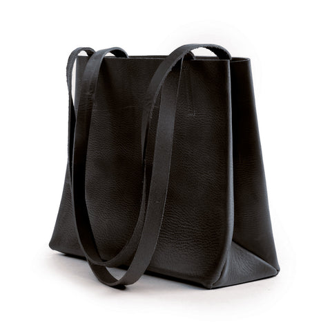 Leather paperbag small