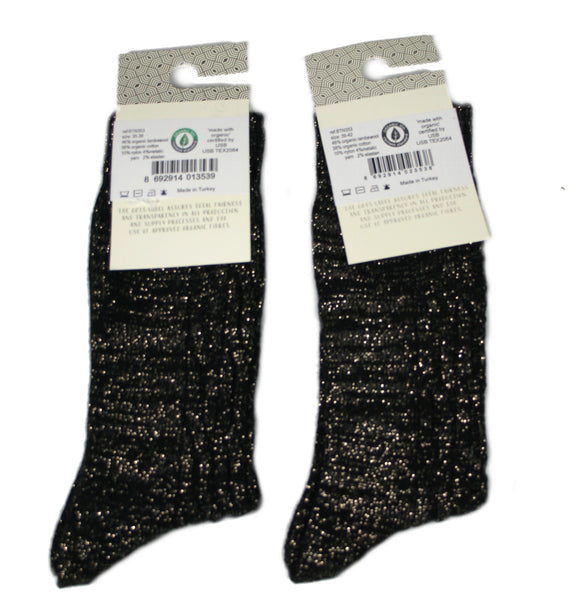 Glitzersocken