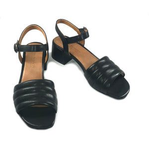 Sandra sandals green, gold
