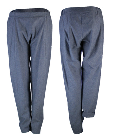 COSY II pants, Cotton-Hemp Denim