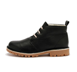 Dari, lace-up shoes with wool lining