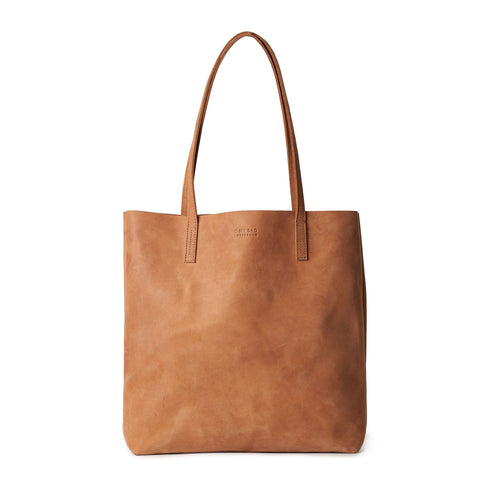 Georgia Shopper, hunter leather